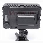 Накамерный свет HD 198 12W 1280LM аккумуляторы Panasonic D, Sony, Canon