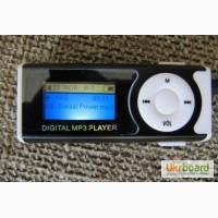 MP3 плеер с ЖК-дисплеем, динамиком и фонариком