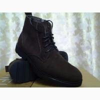Стильные демисезонные мужские ботинки коричневые Lioneli(Faro) Распродажа