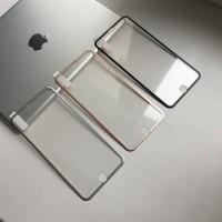 Защитное 3D стекло с титановой рамкой для iPhone 7/8 plus