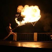 Огнемётное шоу