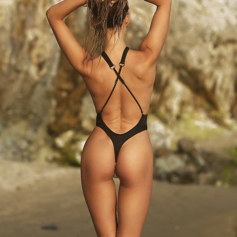 d61755d105222 Продам/купить слитный модный ретро купальник монокини с высокой ...