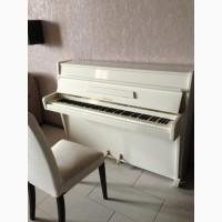 Шикарное белое лакированое пианино после полной реставрации. Weinbach