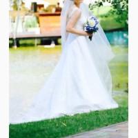 Продам свадебное платье со шлейфом Nava Bride