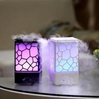 USB Увлажнитель воздуха и ночная лампа Water Cube Black