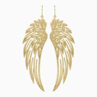 Сережки та кулон із золота Крила надії