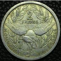 Новая Каледония 2 франка 1949 год
