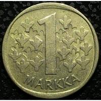 Финляндия 1 марка 1980 год СОСТОЯНИЕ