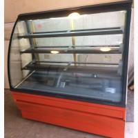 Холодильная кондитерская витрина 1.35 метра б/у