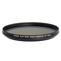 Fotga 72mm Slim ND2-ND400 Нейтрально серый светофильтр переменной плотности