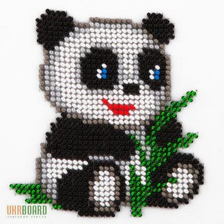 Вышивка крестиком панды 88