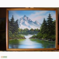 Картина маслом Краса гір 50х40