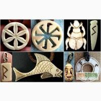 Украшения, амулеты, руны из кости и бивня мамонта. Сайт-мастерская.