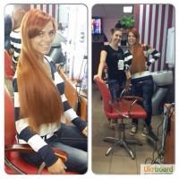 Наращивание волос у ведущего мастера г. Харьков Галь Татьяны
