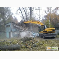 Снос кирпичных и деревянных домов!! Демонтаж строений и сооружений