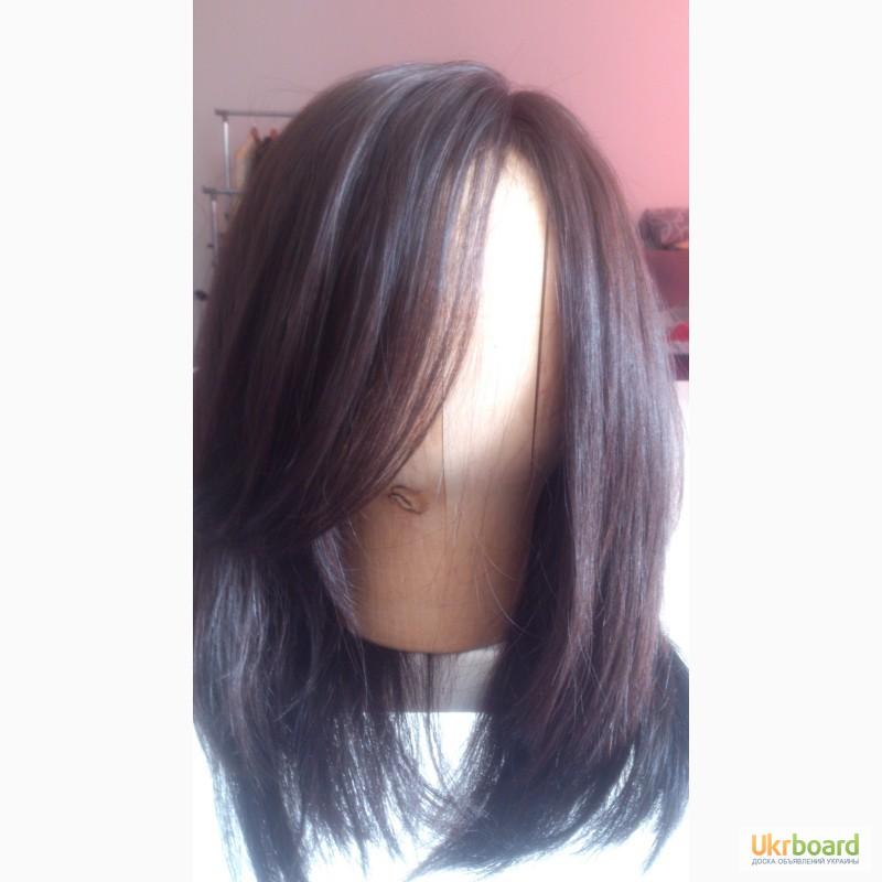 Парик натуральных волос киеве