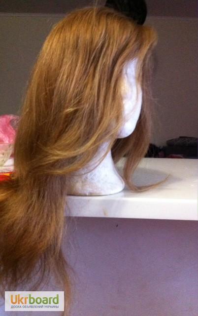 накладки из натуральных волос для объема