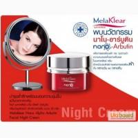 Крем ночной Mistine Melaclear с нано арбутином