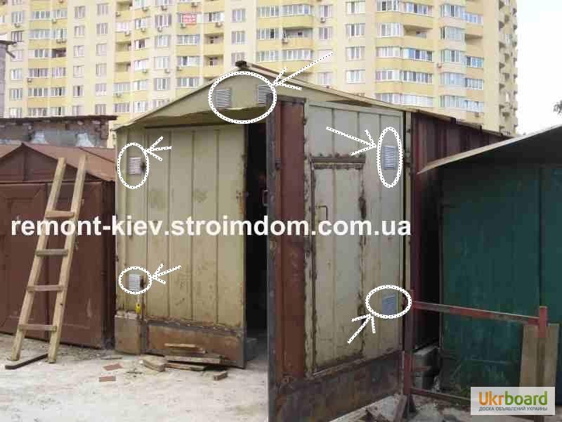 Вентиляция в железном гараже своими руками фото