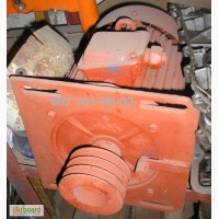 Електродвигун 4А100L8 фарботерки СО-116А з плитою кріплення та шківом