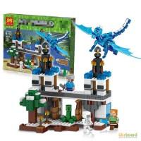Конструктор Голубой дракон Micro World Майнкрафт (Minecraft 79253)