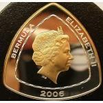 Продам монету Bermuda 2006 Mary Celestia 3 Dollars Gold