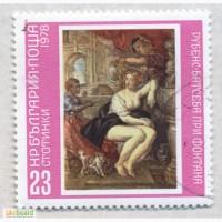 Почтовые марки Болгария 1978. 7 марок Произведения мастеров живописи с Дрезденской галереи