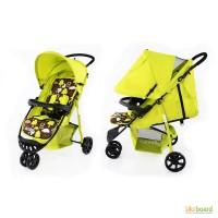 Коляска прогулочная CARRELLO Comfort, зеленая