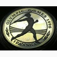 Тонга 1 паанга 1994 Proof серебро 0, 925, Вес:31, 47гр