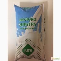 Молоко 2, 6% и 1, 5% (фасовка 900г) опт