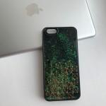 Чехол с плавающими геом. фигурками для iPhone 6/6S
