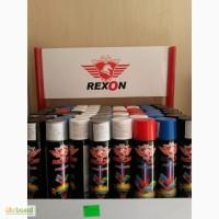 Краска аэрозольная Rexon, эмаль в балончиках