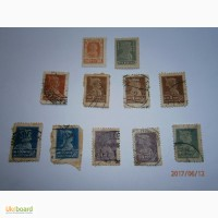 Продам марки Красноармеец - 1923 год