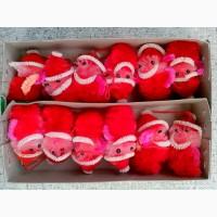 Комплект елочных украшений - Санта-Клаусы