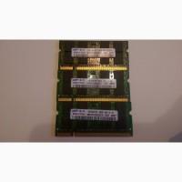 Оперативная память для ноутбука Samsung 1GB 667MHz DDR2 PC2-5300S M470T2953EZ3-CE6