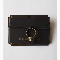 Эксклюзивное кольцо 16 и 16, 5 см с чёрным ониксом maison scotch, нидерланды