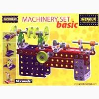 Конструктор металлический MERKUR Machinery set (Чехия)