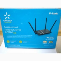 Маршрутизатор Ethernet D-Link AC1200, фото, опис, ціна