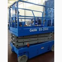 Ножничный подъемник Genie GS 2646, электро, 2006 г., 600 мч, рабочая высота 9.9м