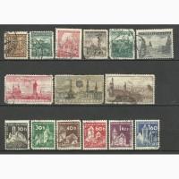 Продам марки Чехословакии 55 шт