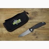 Складной нож Широгоров Хати (Hati) (Реплика), сталь м390 + карбон/титан, Green Thorn