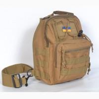 Тактическая сумка на плечо