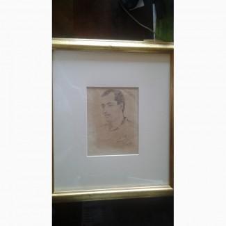 Портрет (графика) Мартироса Сарьяна