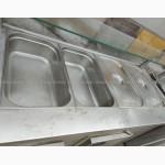 Холодильный мармит бу 1500х700 мм, линия раздачи бу, холодильный прилавок 1500
