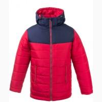 Двухцветная супер модная теплая зимняя куртка для мальчиков 6-16 лет, цвета разные