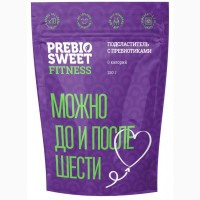 Заменитель сахара Prebiosweet Fitness / Пребиосвит Фитнес, 250 г