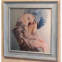 Картина бисером «Селена»