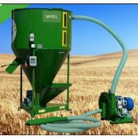 Зерноподрібнювач, дку, кормозмішувач, виробництво комбікормів, 1200кг/годину