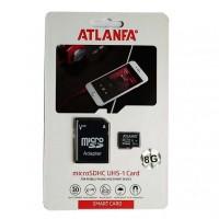 Карта памяти 8Gb class 10 (adapter SD) ATLANFA