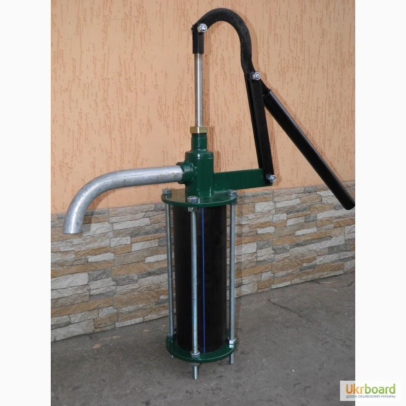 Как сделать водяной насос ручной 627